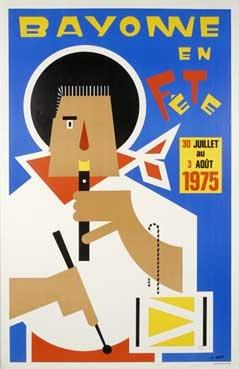 affiche-des-fetes-de-Bayonne-en-1975