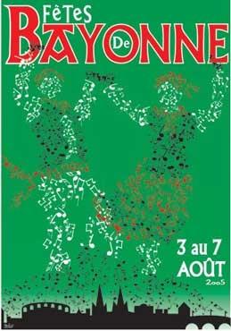 affiche-des-fetes-de-Bayonne-en-2005