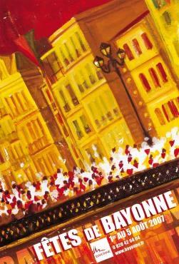 affiche-des-fetes-de-Bayonne-en-2007