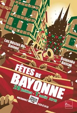 affiche-des-fetes-de-Bayonne-en-2010