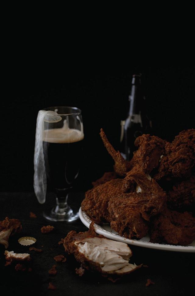 Busta Rhymes – 24 morceaux de poulet frit, préservatifs, bière Guinness.