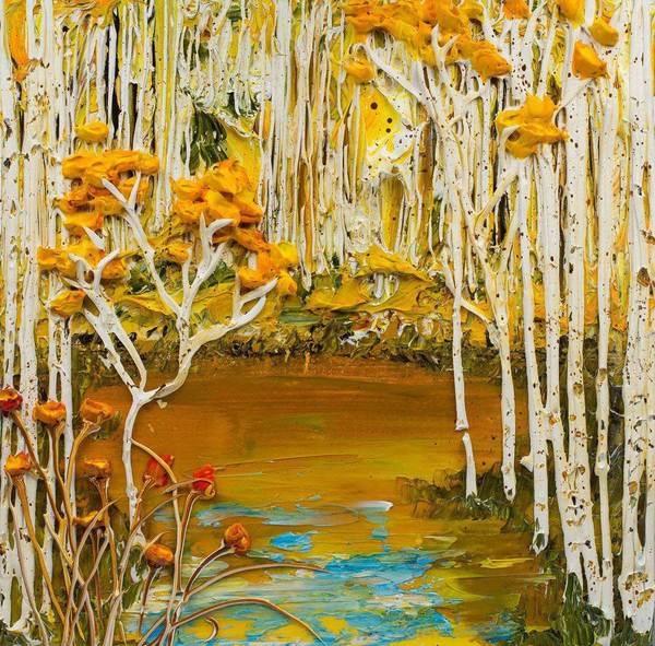 relief peinture acrylique couteaux dimension Justin Gaffrey 3 Du relief dans la peinture Justin Gaffrey