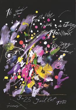 Montreux Jazz Festival >> Toutes les affiches du Montreux Jazz festival de 1967 à 2015