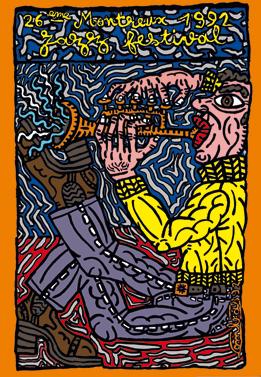 affiche-festival-jazz-montreux-1992