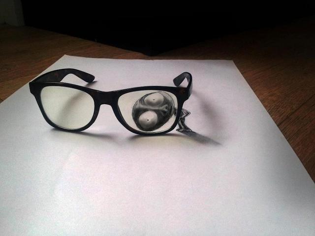 Dessins en 3D - trois dimensions