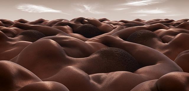 Paysages corporels - Carl Warner