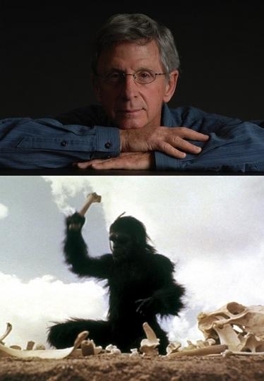 Dan Richter, le grand singe de 2001 dans  l'Odyssée de l'Espace