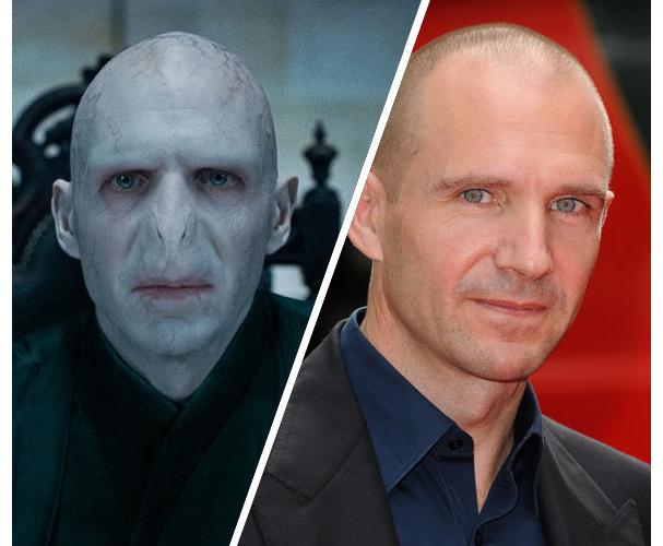 Ralph Fiennes, Voldemort (Harry Potter)