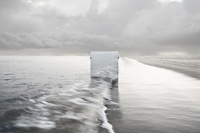 Des miroirs dans le paysage for Miroir reflet