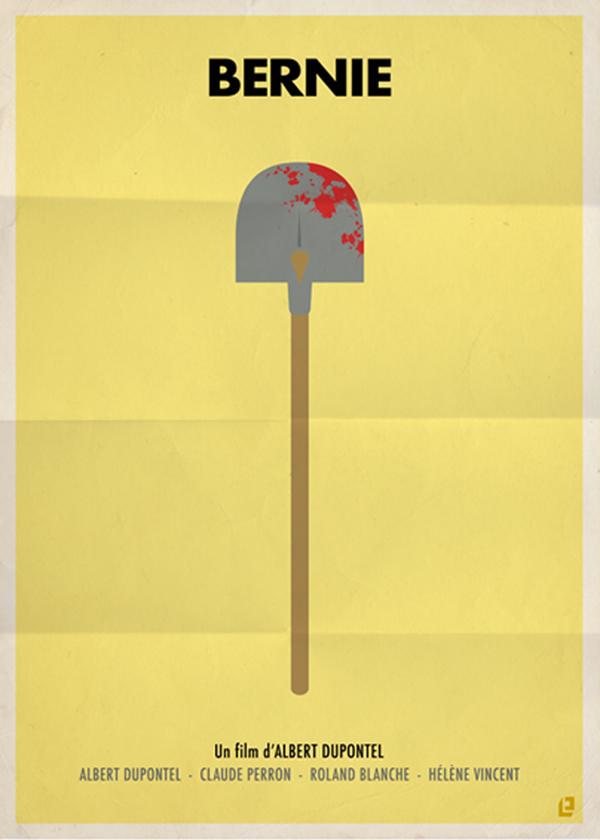 Affiches de films dans un style minimaliste for Art minimaliste citation