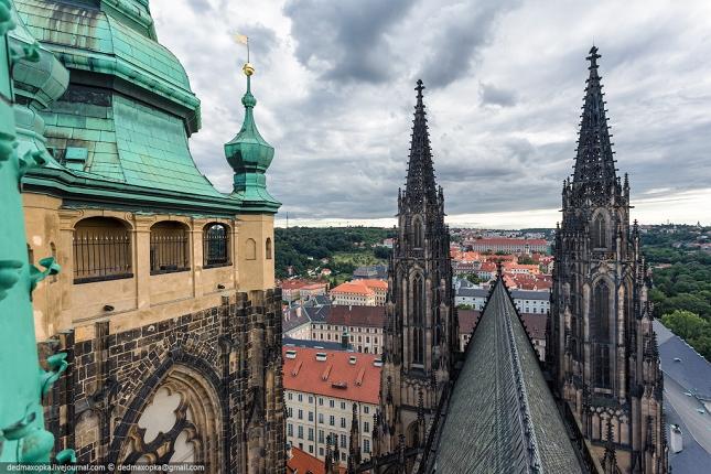 cathédrale  à Prague 2