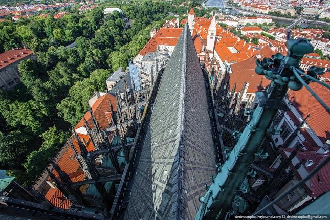 cathédrale  à Prague 3