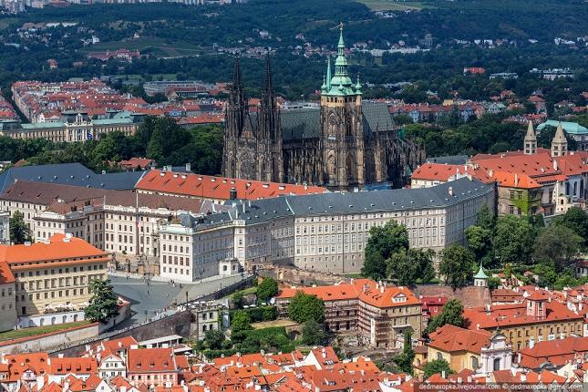 cathédrale  à Prague