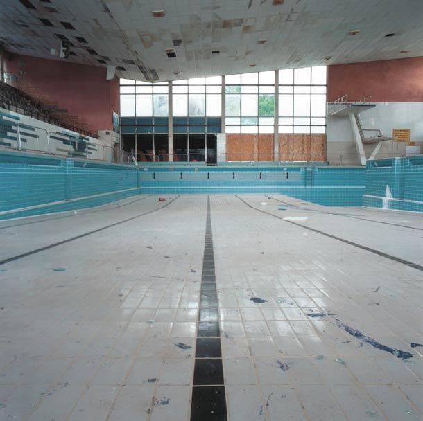piscine vide