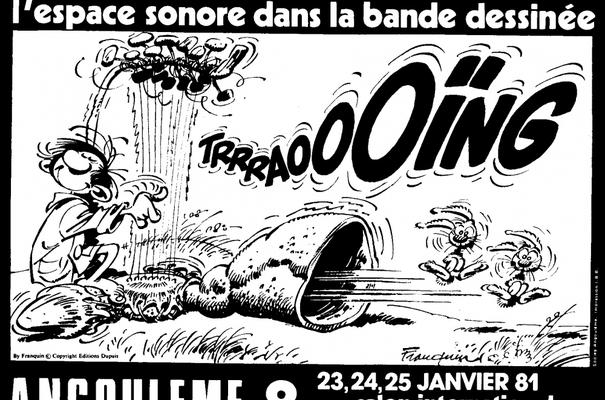 Affiche-Salon-bande-dessinee-angoulemes-1981-Andre-Franquin
