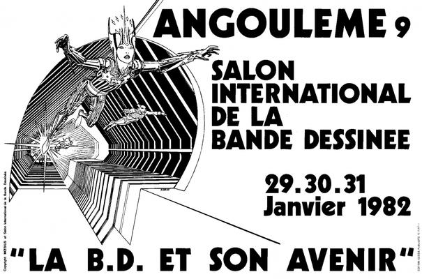 Affiche-Salon-bande-dessinee-angoulemes-1982-Moebius-