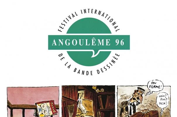 Affiche-Salon-bande-dessinee-angoulemes-1996-Philippe-Vuillemin-
