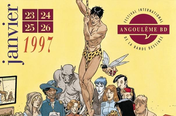 Affiche-Salon-bande-dessinee-angoulemes-1997-Andre-Juillard-