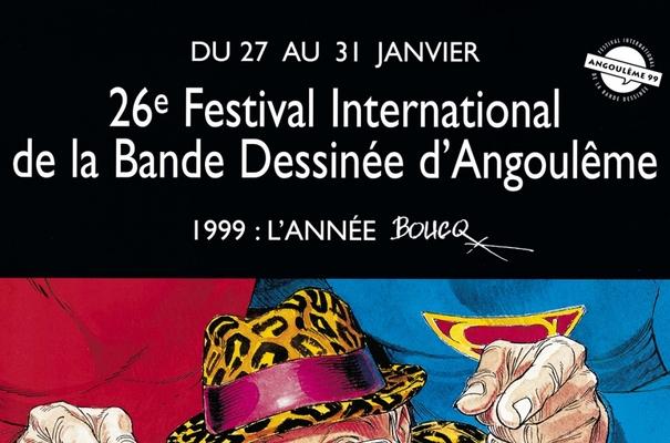 Affiche-Salon-bande-dessinee-angoulemes-1999-Francois-boucq-