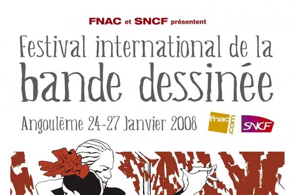 Affiche-Salon-bande-dessinee-angoulemes-2008-Jose-Munoz-