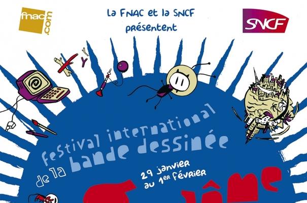 Affiche-Salon-bande-dessinee-angoulemes-2009-Dupuy-et-Berberian-