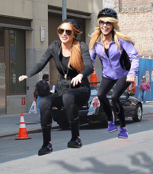 Lindsay Lohan et Dina Lohan