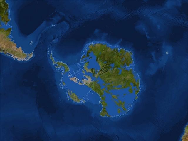 terre continant fonte glace 7 A quoi ressemblerait la terre si la glace fondait