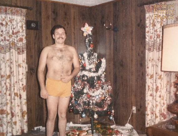 Le pire des photos de famille pour noël, version : Borat