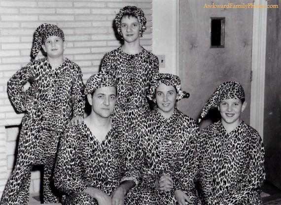 panthère Le pire des photos de famille pour noël