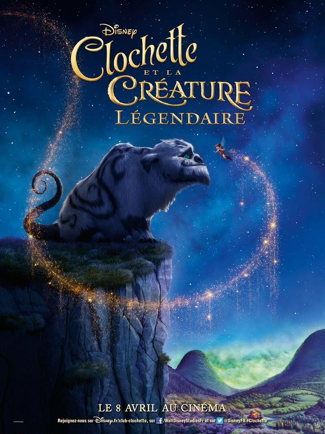 Affiche - Clochette et la Créature Légendaire 2015