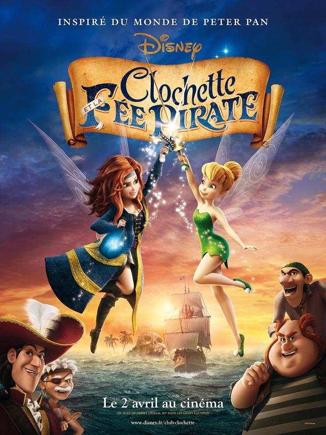 Affiche - Clochette et la Fée Pirate 2014