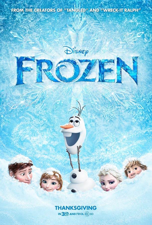 Affiche La Reine des neiges 2013