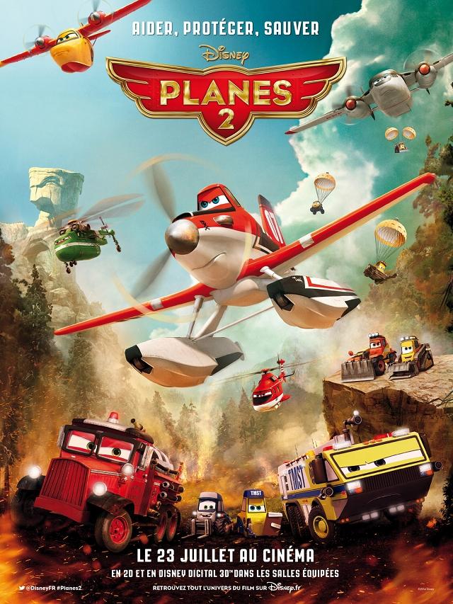 Affiche - Plane 2 2014