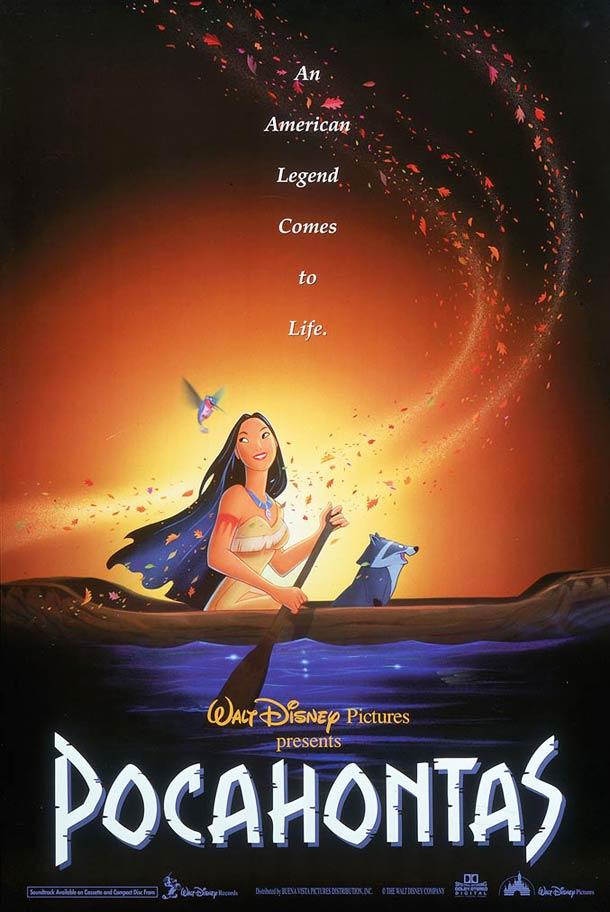 Affiche Pocahontas 1995