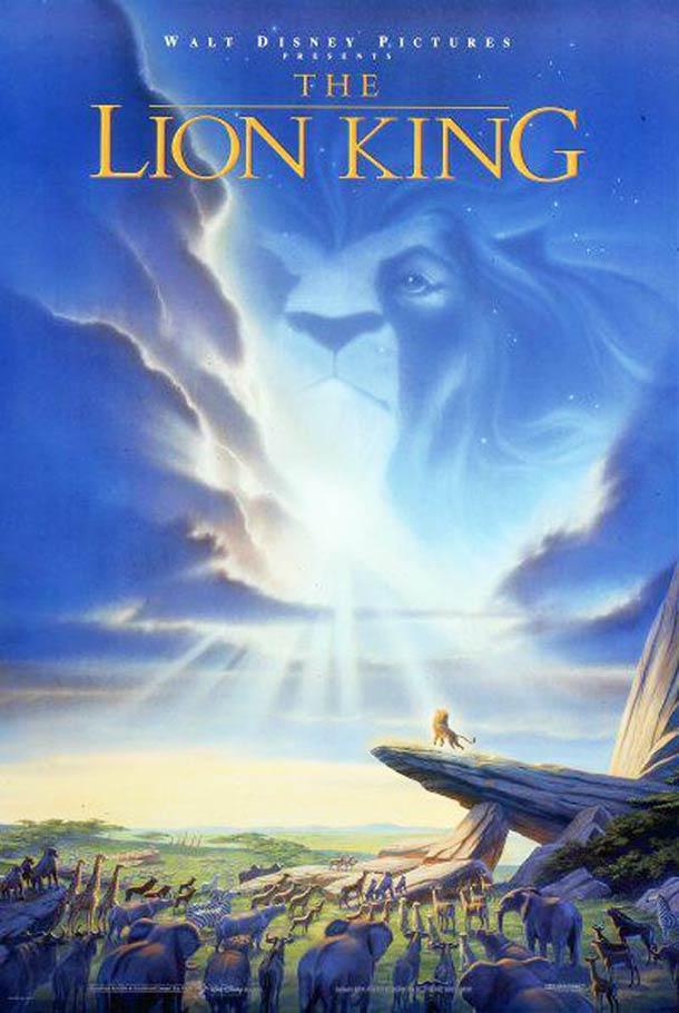 Affiche le roi Lion 1994