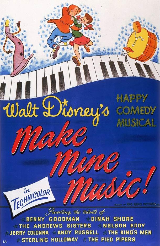 La Boite à musique affiche 1946