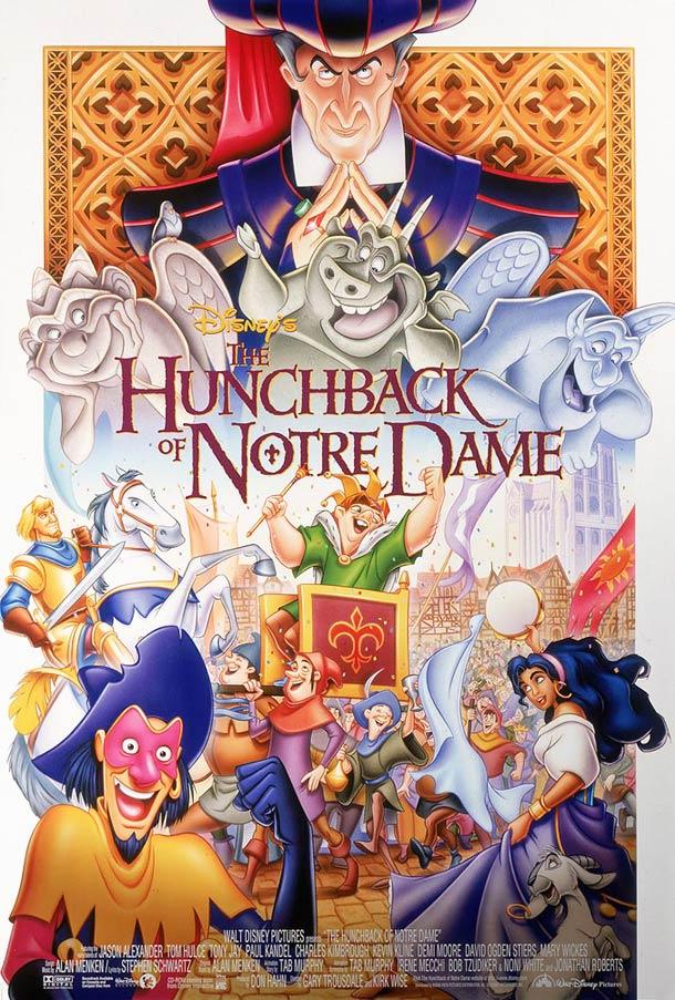 Le Bossu de Notre-Dame affiche 1996
