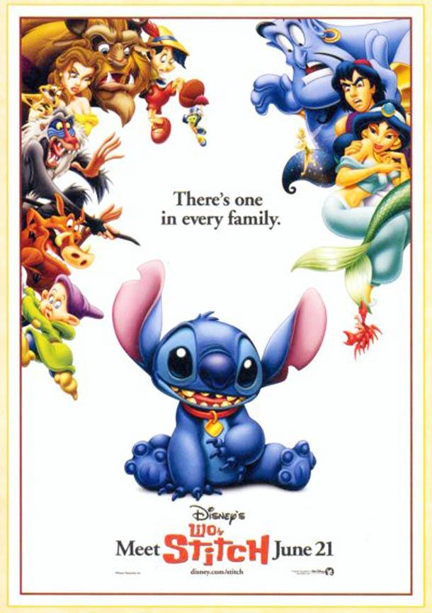 Lilo et Stitch affiche 2002