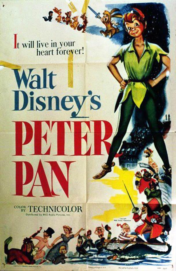 Peter Pan affiche 1953