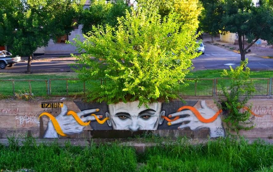Street art a Mendoza argentine