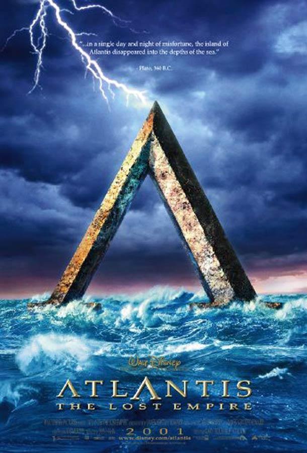 affiche Atlantide l'empire perdu 2001