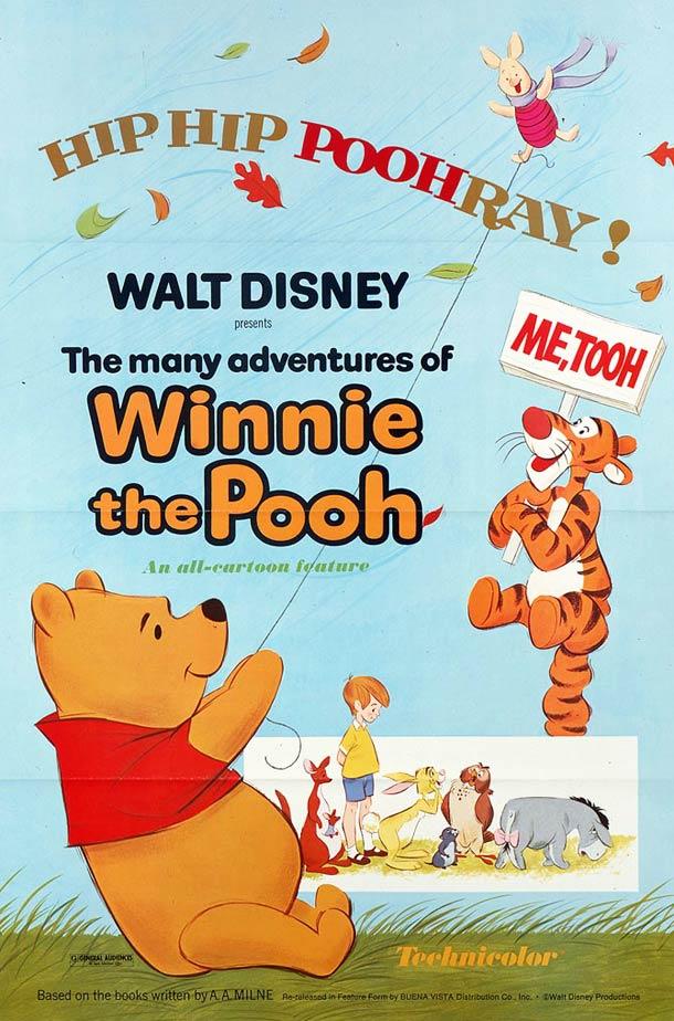 affiche Winnie lourson 1977