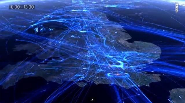 Traffic-aerien-Europe