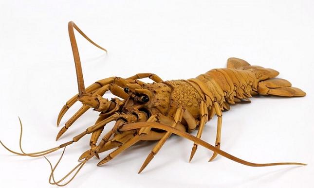 sculpture-ultra-réaliste-homard-1