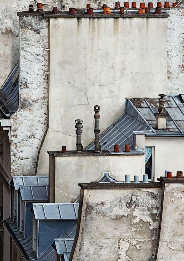 sur les toits de paris par michael wolf. Black Bedroom Furniture Sets. Home Design Ideas