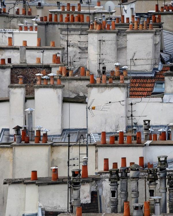 Sur les toits de paris par michael wolf - Visite des toits de paris ...