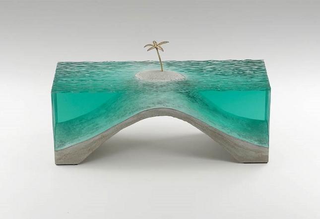 sculptures en verre