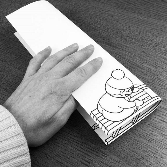 L illustrateur danois huskmitnavn donne vie ses dessins - Dessin interactif ...