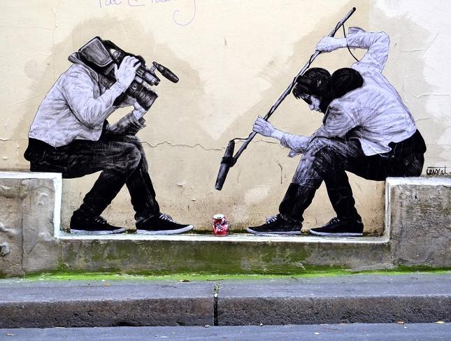 Street artiste parisien 9