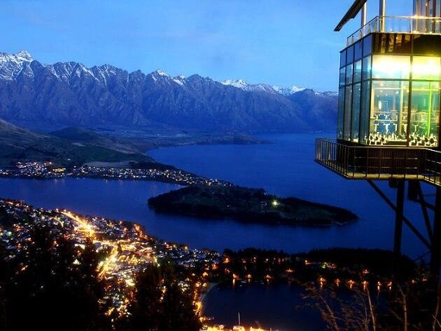 Restaurant-insolite-Skyline Restaurant, Queenstown, Nouvelle-Zélande